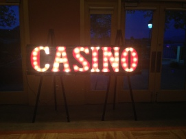 Casino Marquee Sign