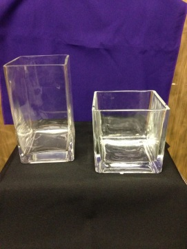 Cube Vase set