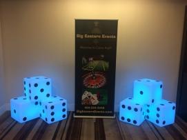Giant LED Dice