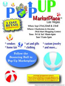 pop up marketplace flyer