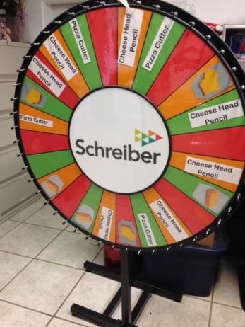 """42"""" prize wheel"""