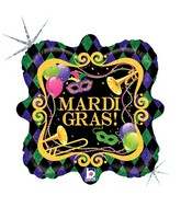 36222-18-inches-Square-Holographic-Mardi-Gras-Party-balloons